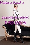 Schooled by Mistress Third Lesson